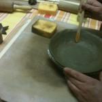 modelage assiette